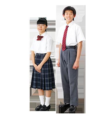 中学 夏服